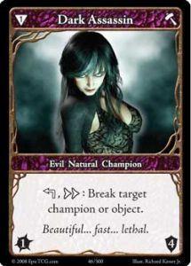Epic Autres jeux de cartes 046 - Dark Assassin [Set 1 - Cartes Epic]