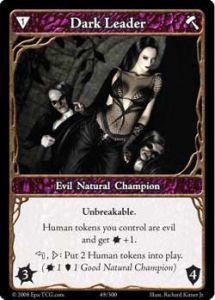 Epic Autres jeux de cartes 049 - Dark Leader [Set 1 - Cartes Epic]