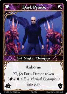 Epic Autres jeux de cartes 050 - Dark Prince [Set 1 - Cartes Epic]