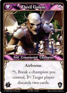 Epic Autres jeux de cartes 060 - Devil Golem [Set 1 - Cartes Epic]