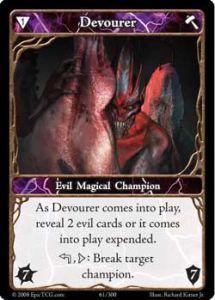 Epic Autres jeux de cartes 061 - Devourer [Set 1 - Cartes Epic]