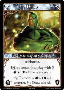 Epic Autres jeux de cartes 066 - Djinn [Set 1 - Cartes Epic]