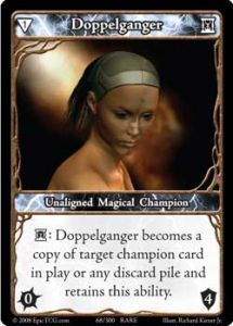 Epic Autres jeux de cartes 068 - Doppelganger [Set 1 - Cartes Epic]