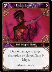 Epic Autres jeux de cartes 070 - Drain Essence [Set 1 - Cartes Epic]