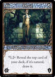 Epic Autres jeux de cartes 073 - Druid [Set 1 - Cartes Epic]