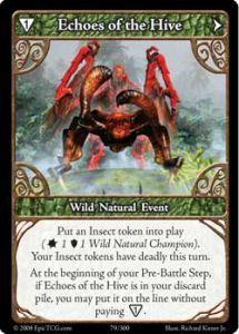 Epic Autres jeux de cartes 079 - Echoes of The Hive [Set 1 - Cartes Epic]