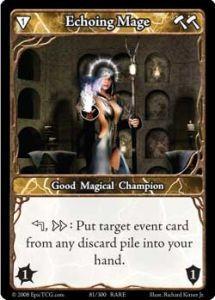 Epic Autres jeux de cartes 081 - Echoing Mage [Set 1 - Cartes Epic]