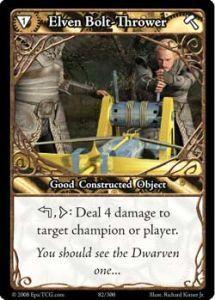 Epic Autres jeux de cartes 082 - Elven Boltthrower [Set 1 - Cartes Epic]