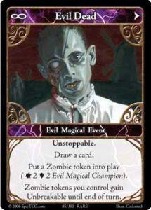 Epic Autres jeux de cartes 085 - Evil Dead [Set 1 - Cartes Epic]