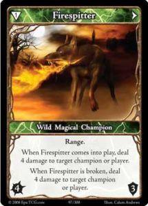 Epic Autres jeux de cartes 097 - Firespitter [Set 1 - Cartes Epic]