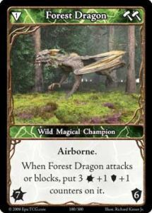 Epic Autres jeux de cartes 100 - Forest Dragon [Set 1 - Cartes Epic]