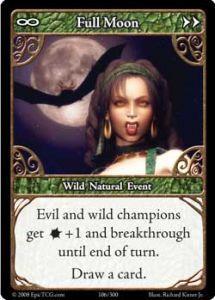 Epic Autres jeux de cartes 106 - Full Moon [Set 1 - Cartes Epic]