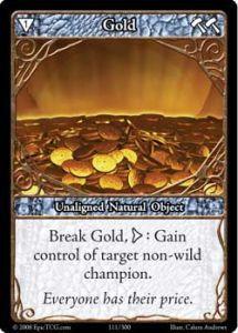 Epic Autres jeux de cartes 111 - Gold [Set 1 - Cartes Epic]