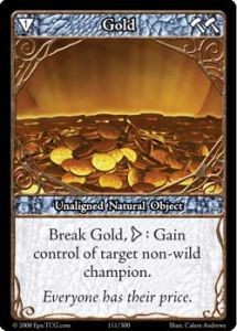 Epic Autres jeux de cartes 111 - Gold [Set 1 - Cartes Epic]