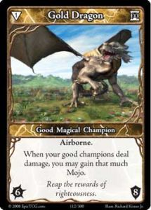 Epic Autres jeux de cartes 112 - Gold Dragon [Set 1 - Cartes Epic]