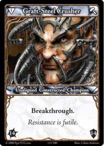 Epic Autres jeux de cartes 115 - Graft-Steel Crusher [Set 1 - Cartes Epic]