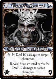 Epic Autres jeux de cartes 116 - Graft-Steel Overlord [Set 1 - Cartes Epic]
