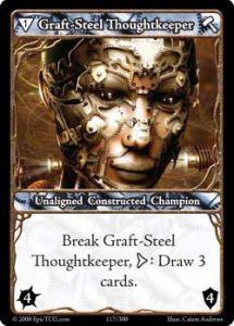 Epic Autres jeux de cartes 117 - Graft-Steel Thoughtkeeper [Set 1 - Cartes Epic]