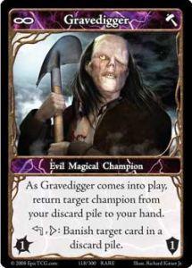Epic Autres jeux de cartes 118 - Gravedigger [Set 1 - Cartes Epic]