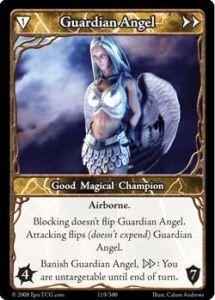Epic Autres jeux de cartes 119 - Guardian Angel [Set 1 - Cartes Epic]