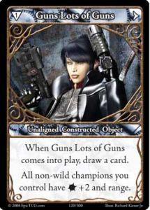 Epic Autres jeux de cartes 120 - Guns, Lots of Guns [Set 1 - Cartes Epic]