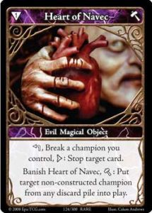 Epic Autres jeux de cartes 124 - Heart of Navec [Set 1 - Cartes Epic]