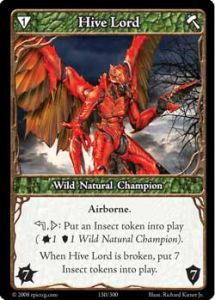 Epic Autres jeux de cartes 130 - Hive Lord [Set 1 - Cartes Epic]