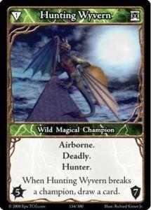 Epic Autres jeux de cartes 134 - Hunting Wyvern [Set 1 - Cartes Epic]