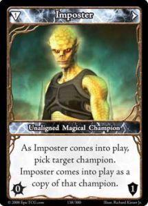 Epic Autres jeux de cartes 138 - Imposter [Set 1 - Cartes Epic]