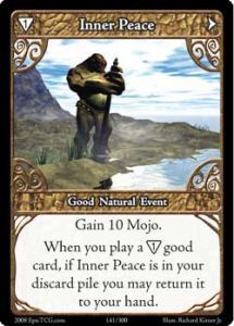 Epic Autres jeux de cartes 141 - Inner Peace [Set 1 - Cartes Epic]