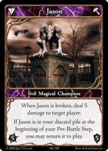 Epic Autres jeux de cartes 146 - Jason [Set 1 - Cartes Epic]