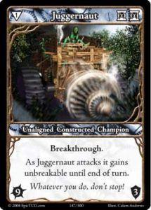 Epic Autres jeux de cartes 147 - Juggernaut [Set 1 - Cartes Epic]
