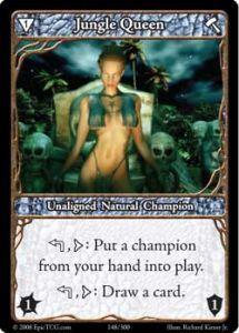 Epic Autres jeux de cartes 148 - Jungle Queen [Set 1 - Cartes Epic]