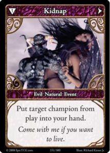 Epic Autres jeux de cartes 151 - Kidnap [Set 1 - Cartes Epic]