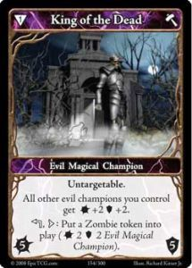 Epic Autres jeux de cartes 154 - King of The Dead [Set 1 - Cartes Epic]