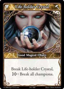 Epic Autres jeux de cartes 161 - Life Holder Crystal [Set 1 - Cartes Epic]