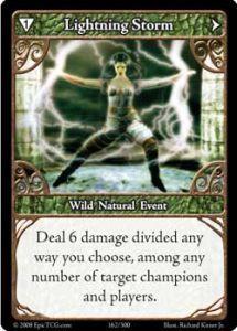 Epic Autres jeux de cartes 162 - Lightning Storm [Set 1 - Cartes Epic]