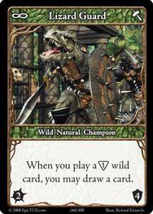 Epic Autres jeux de cartes 164 - Lizard Guard [Set 1 - Cartes Epic]