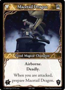 Epic Autres jeux de cartes 168 - Macetail Dragon [Set 1 - Cartes Epic]