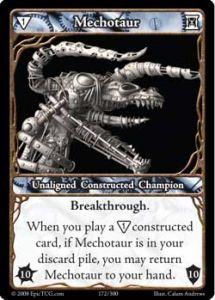 Epic Autres jeux de cartes 172 - Mechotaur [Set 1 - Cartes Epic]