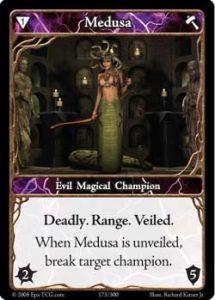 Epic Autres jeux de cartes 173 - Medusa [Set 1 - Cartes Epic]