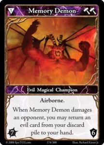 Epic Autres jeux de cartes 174 - Memory Demon [Set 1 - Cartes Epic]