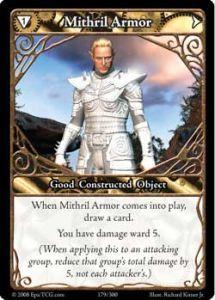 Epic Autres jeux de cartes 179 - Mithril Armor [Set 1 - Cartes Epic]