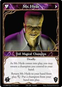 Epic Autres jeux de cartes 180 - Mr. Hyde [Set 1 - Cartes Epic]