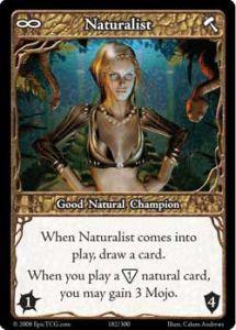 Epic Autres jeux de cartes 182 - Naturalist [Set 1 - Cartes Epic]