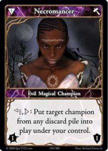 Epic Autres jeux de cartes 184 - Necromancer [Set 1 - Cartes Epic]