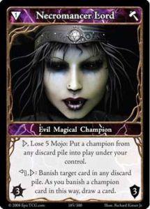 Epic Autres jeux de cartes 185 - Necromancer Lord [Set 1 - Cartes Epic]