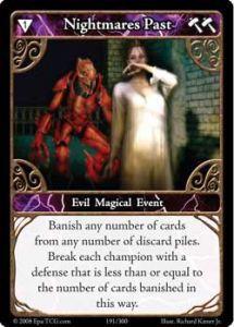 Epic Autres jeux de cartes 191 - Nightmares Past [Set 1 - Cartes Epic]