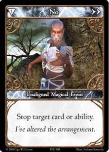 Epic Autres jeux de cartes 192 - No [Set 1 - Cartes Epic]