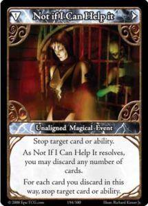 Epic Autres jeux de cartes 194 - Not If I Can Help It [Set 1 - Cartes Epic]